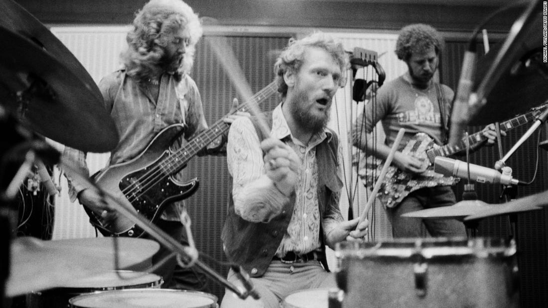 Legendary Cream drummer Ginger Baker dies at 80