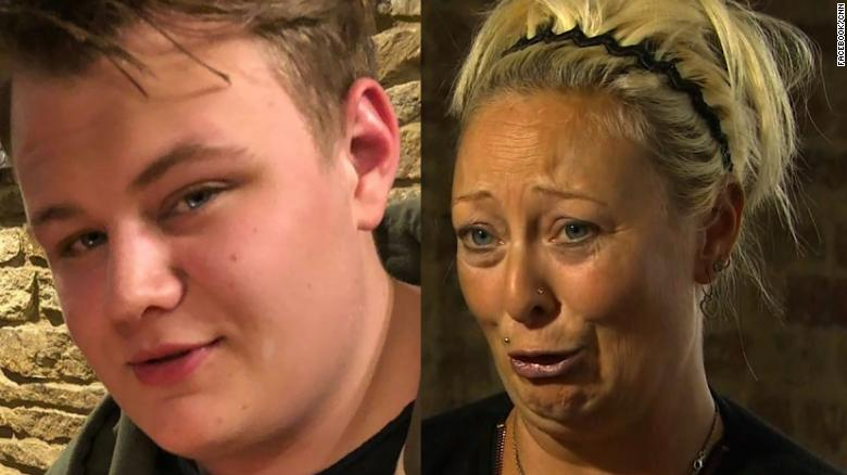 Victim's mother makes a tearful plea after her son's death