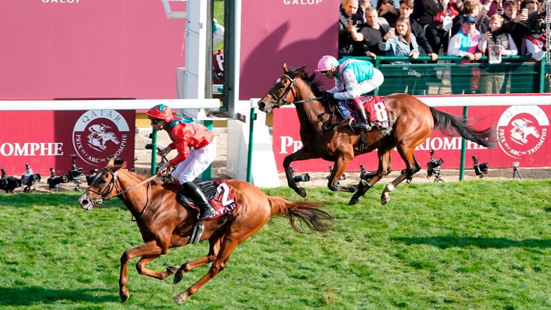 Enable beaten by Waldgeist to miss historic third Prix de l'Arc de Triomphe