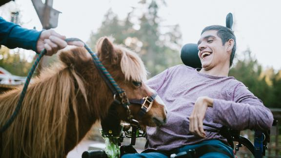 Horse therapy is a proven method of therapy for children with autism, physical disabilities and mental and behavioral problems.
