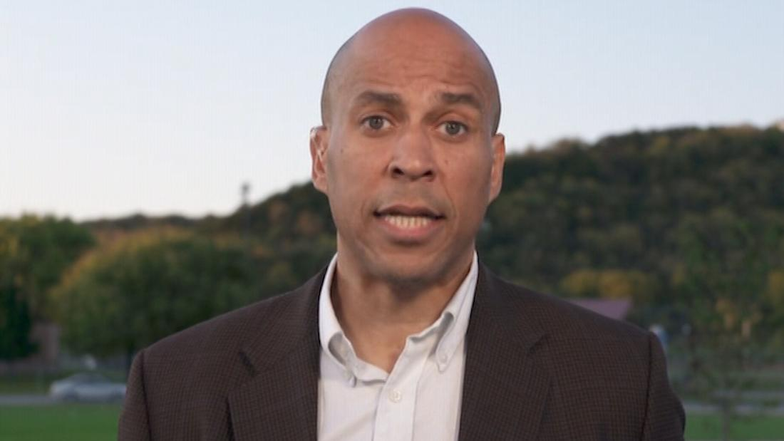 Booker on Trump-Ukraine scandal: 'If you come after Joe Biden, you're going to have to deal with me'