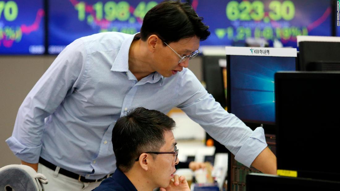Asiatische Aktien gedämpft vor dieser Woche die trade-Gespräche