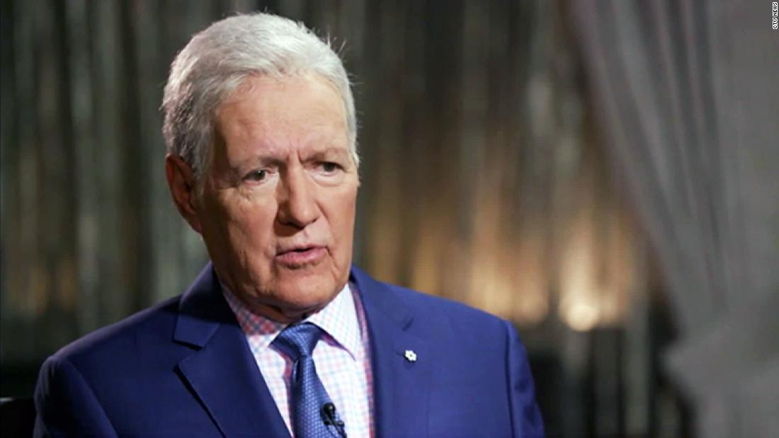 Trustworthy and chill: Alex Trebek, we're rooting for you