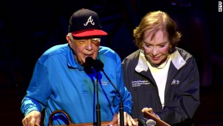 Jimmy Carter needed seams after he had dropped home anyway to travel to Nashville
