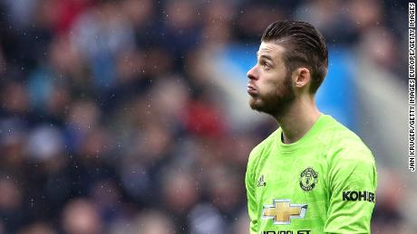 David De Gea could miss United's game with Liverpool after sustaining an injury while on international duty with Spain.