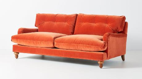 Admirable Find An Orange Couch Inspired By Friends Tv Show Cnn Pabps2019 Chair Design Images Pabps2019Com