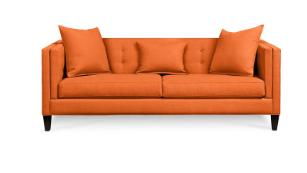 Superb Find An Orange Couch Inspired By Friends Tv Show Cnn Gmtry Best Dining Table And Chair Ideas Images Gmtryco