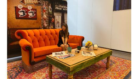 Find a Orange Couch Inspired by Friends TV Show - CNN