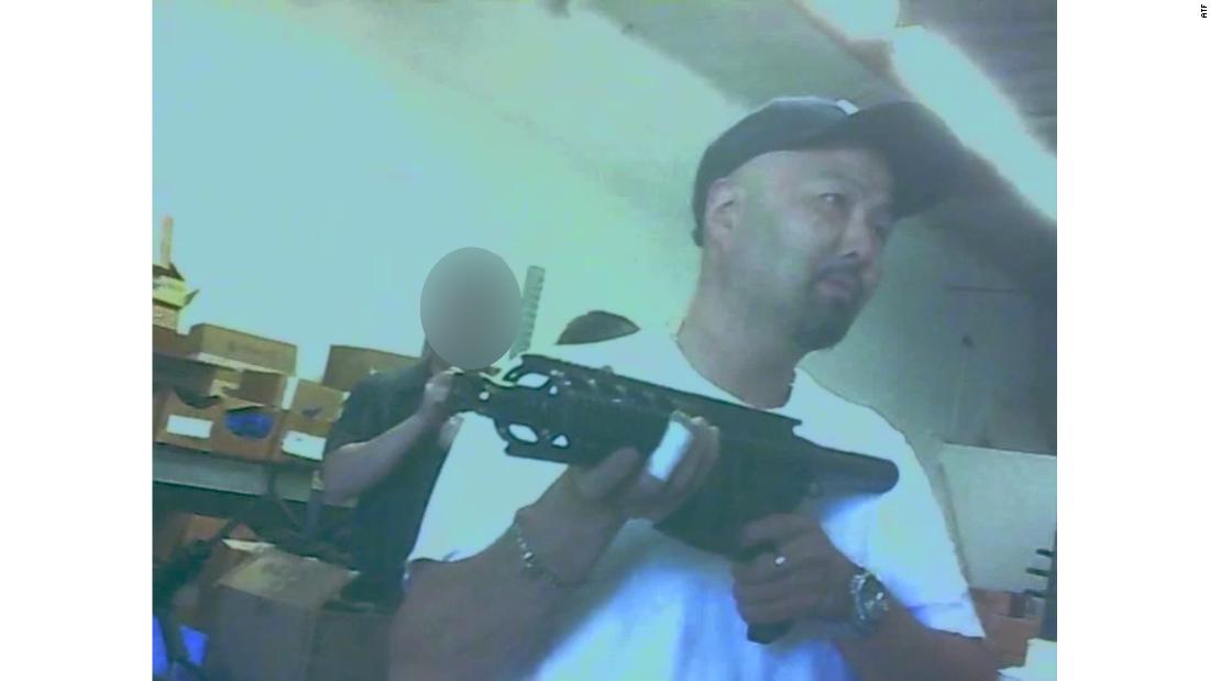 Joseph Roh in the factory where he manufactured and sold AR-15-style weapons before being raided by agents from the federal Bureau of Alcohol, Tobacco, Firearms and Explosives five years ago.