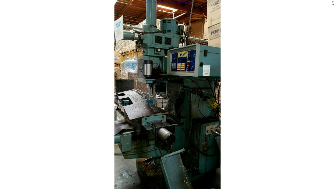 Machinery in the warehouse where Joseph Roh manufactured AR-15-style weapons for $1,000 each.