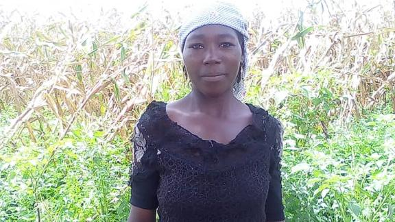 Esther Usman, a farmer in Nigeria, uses a credit network to buy seeds in the dry months and sell her crops for the best price.