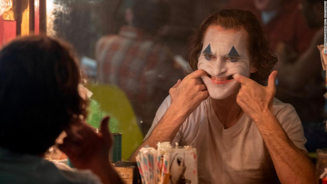 "<strong>Best actor in a motion picture — drama:</strong> Joaquin Phoenix, ""Joker"""