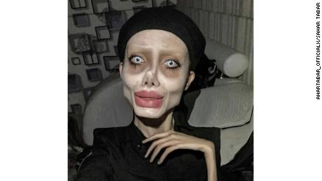 An Iranian Instagram star was arrested for blasphemy. She became a viral sensation after posting doctored selfies making her look like a zombie version of Angelina Jolie.
