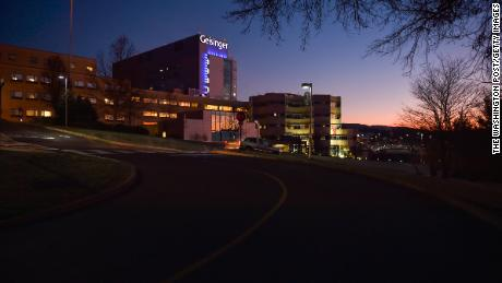 Geisinger Medical Center in Danville, Pennsylvania, some 70 miles north of Harrisburg.