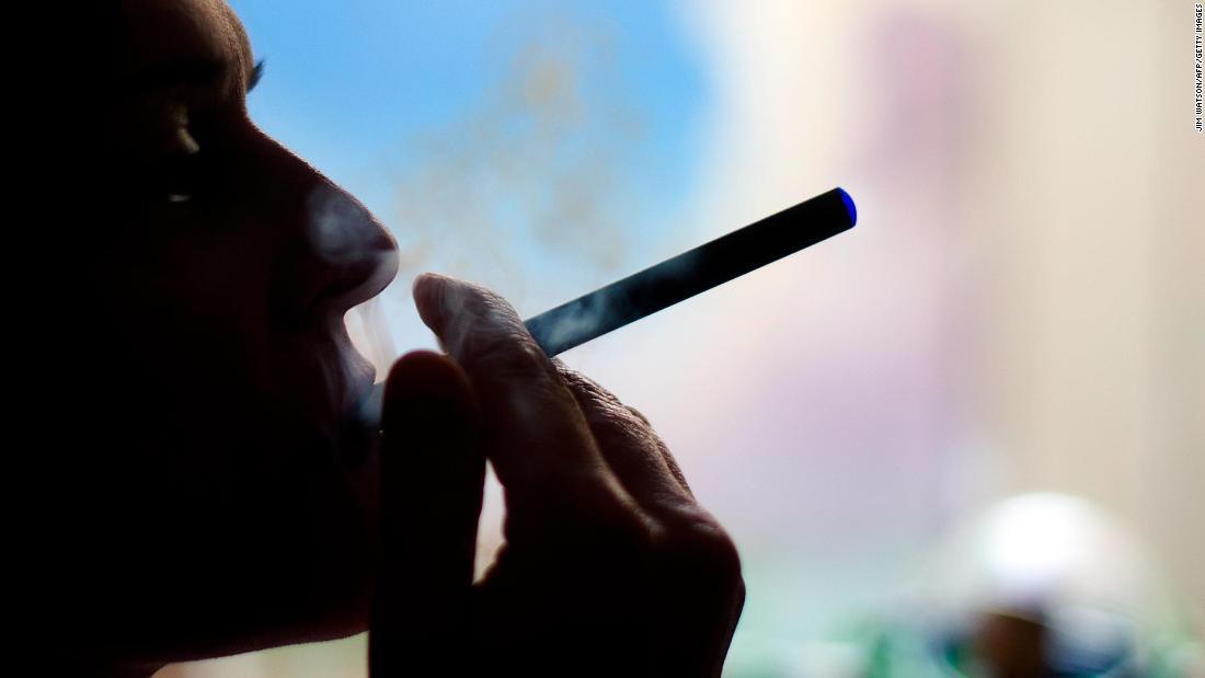 トランプは一定の電子タバコの味の市場