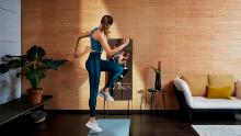 Mirror can be discreetly installed in the home for fitness classes, and now, for personal training sessions.