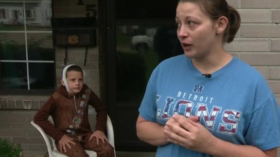 Michigan boy suffers second degree burns in 'fire challenge'