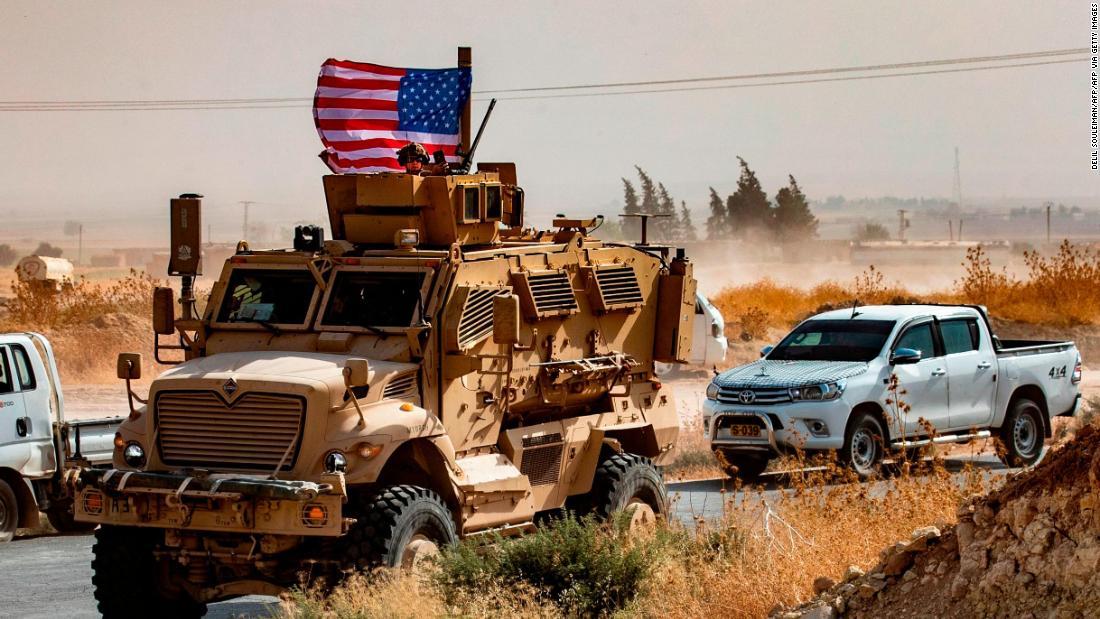 US-Truppen verlassen nördlichen Syrien. Hier ist, warum