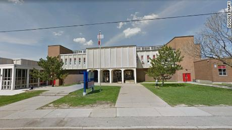 A 14-year-old boy was stabbed to death outside Sir Winston Churchill Secondary School in Hamilton, Ontario, Canada Monday.