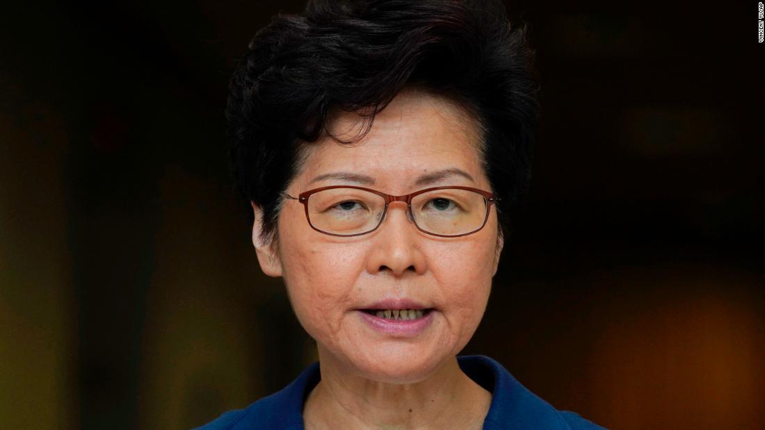 香港リーダーを守警察力の行使