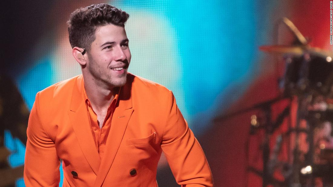 Nick Jonas is recovering from bike accident