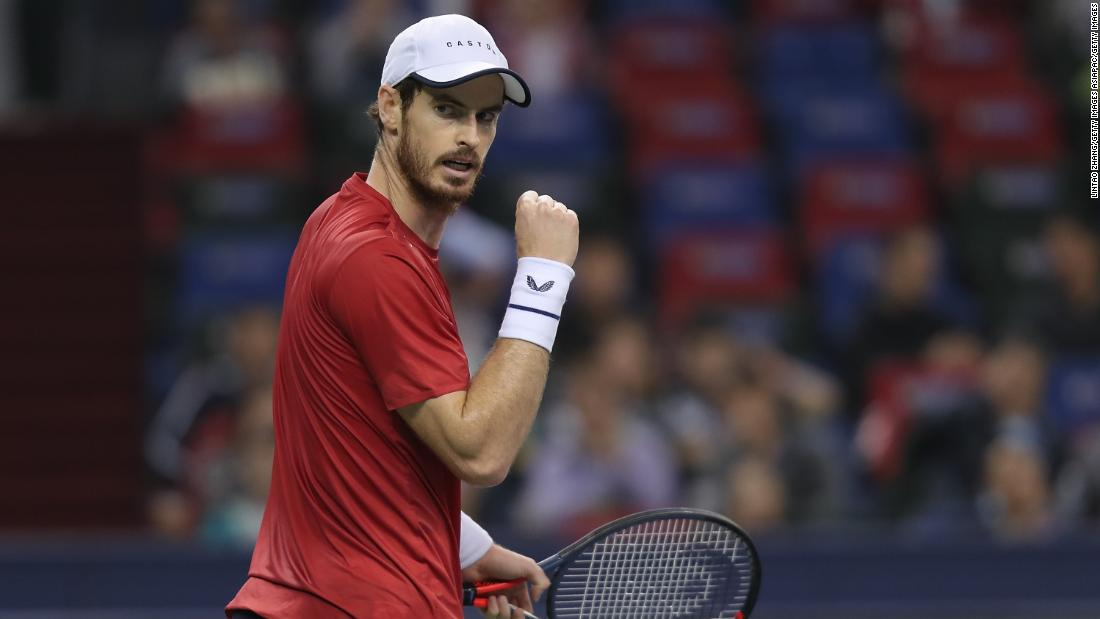 Andy Murray wins his first singles title since undergoing two hip surgeries
