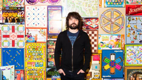 Tom Szaky, founder and CEO of TerraCycle, poses for a portrait at the company