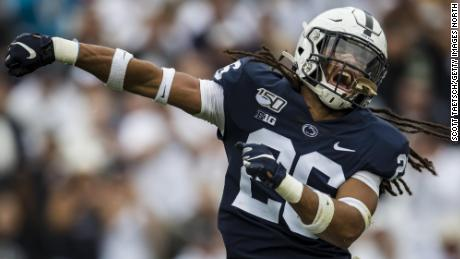 Penn State football player receives letter criticizing his dreadlocks