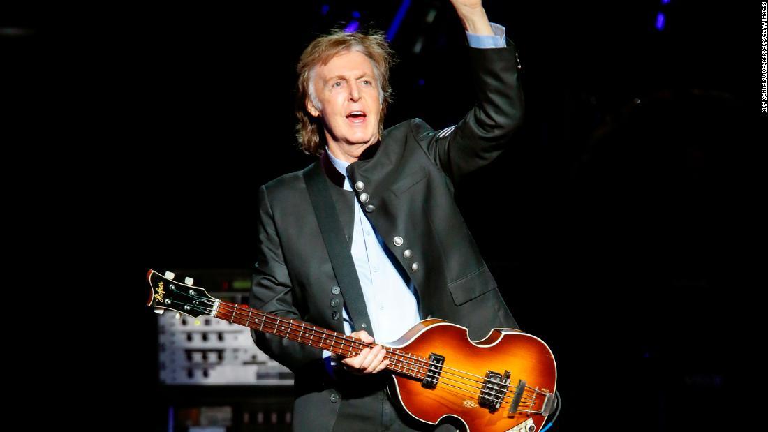 Paul McCartney slams animal experiments in new PETA music video
