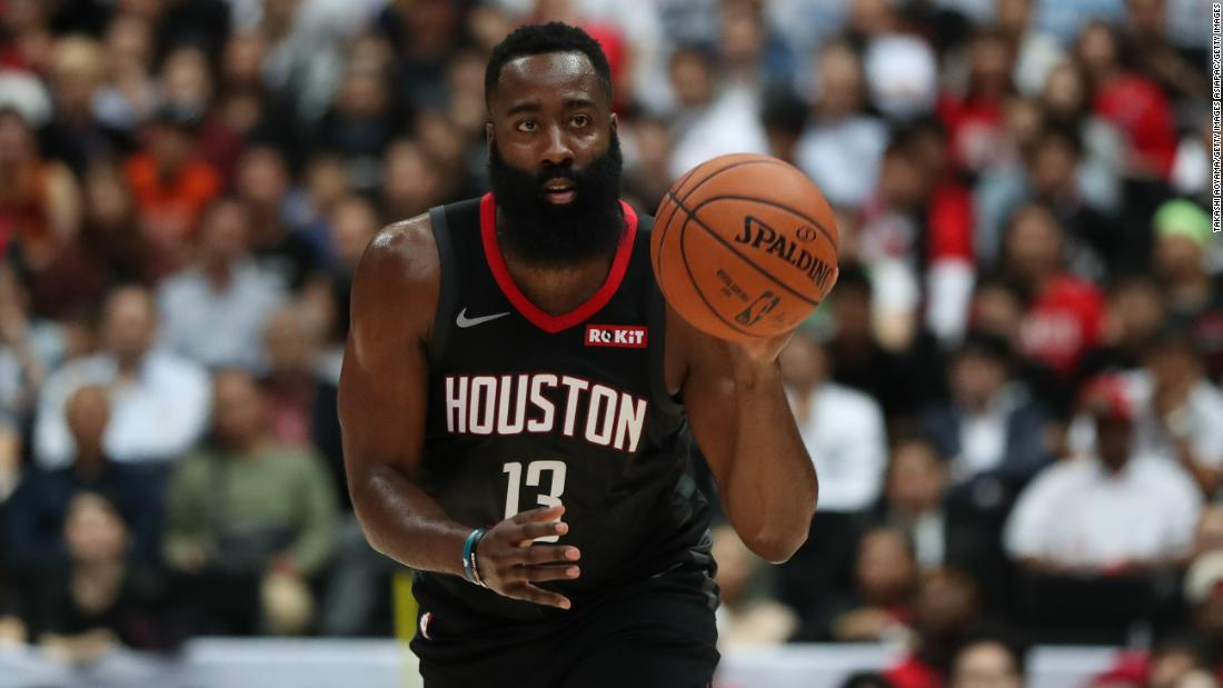 James Harden becomes the first player in NBA history to record back-to-back 50-point games with more than 10 three-pointers