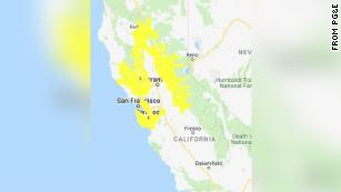 Pg E Has Begun Cutting Power Across Parts Of Northern California Nearly 800 000 Customers Will Be Affected The hot spots map shows the share of population with a new reported case over the last week. pg e has begun cutting power across