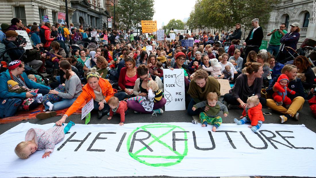 The climate activists preparing for arrest