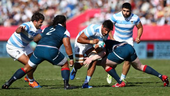 Argentina confirmed its spot in the 2023 Rugby World Cup in France with a 47-17 win over USA, ensuring it finished third in Pool C.