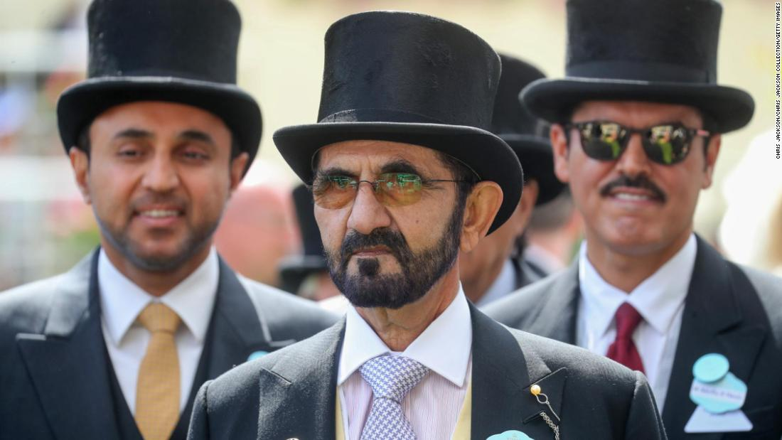 Dubai ruler Sheikh Mohammed spends more than $4 million on a horse