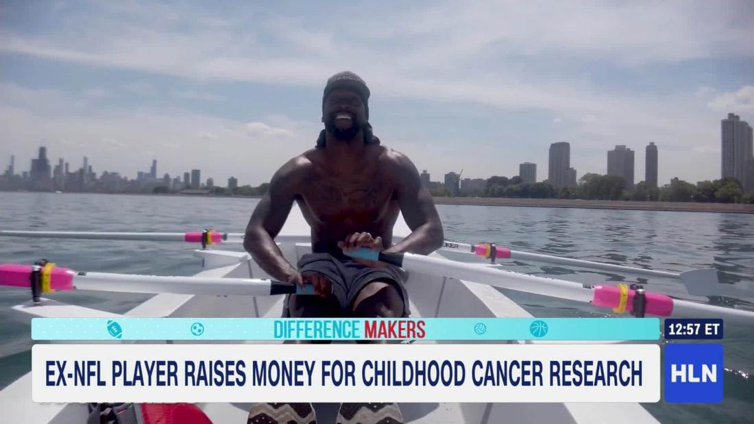 Former NFL player Peanut Tillman gives back to children in need
