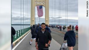 A Marine veteran walked over 800 miles in 42 days for veteran suicide awareness