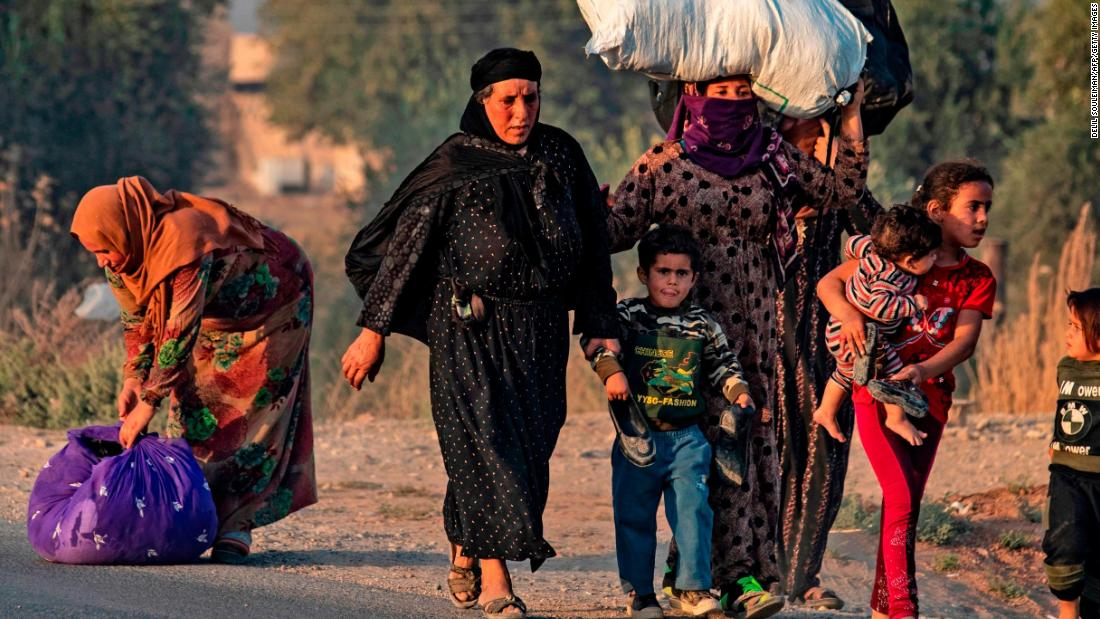 Kurdish humanitarian groups left to fend for themselves as Northern Syria goes from refuge to frontline - CNN