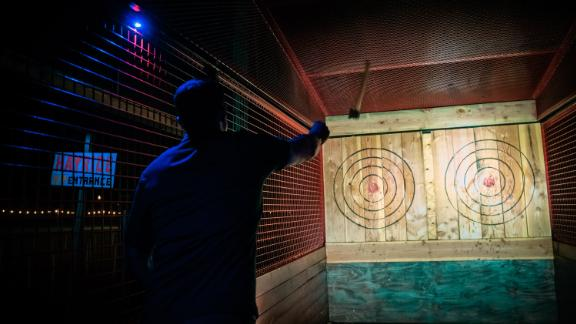 Bates Motel (Glen Mills, Pennsylvania): The Bates offers more than a place to rest your sleepy head. A little recreational ax-throwing never hurt anyone -- right?