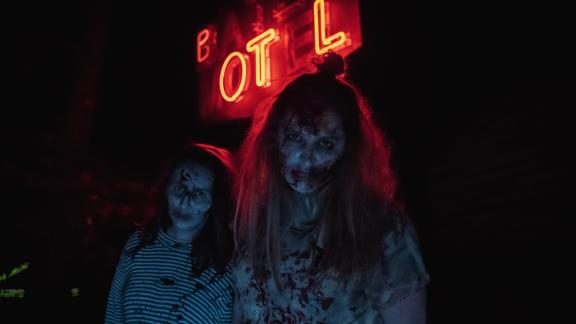 Bates Motel (Glen Mills, Pennsylvania): There's nothing quite like a relaxing getaway at a vintage motor court. And then there's the Bates Motel! Click through the gallery for more on the Bates Motel and other haunted house attractions across the USA: