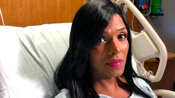 Daniela Calderon Rivera says she is now afraid to leave the hospital.