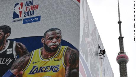 China ceased its relations with the NBA last week and is now beginning to recover.