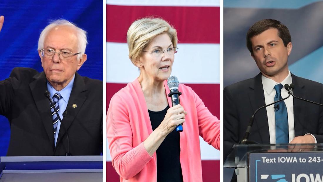2020 candidates get real on
