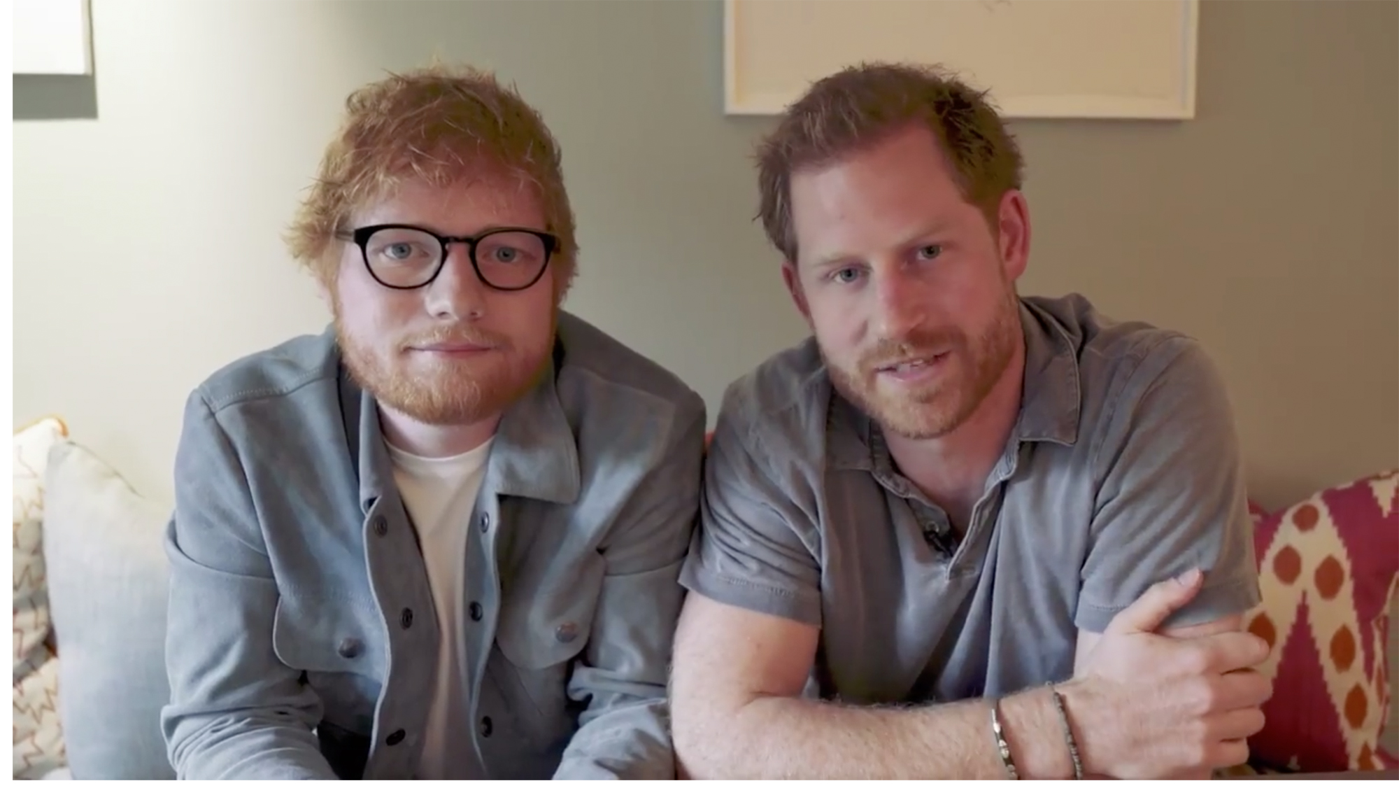 Ed Sheeran And Prince Harry Release World Mental Health Day Video Cnn Video