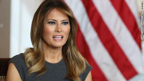 Melania Trump ramps up coronavirus public messaging