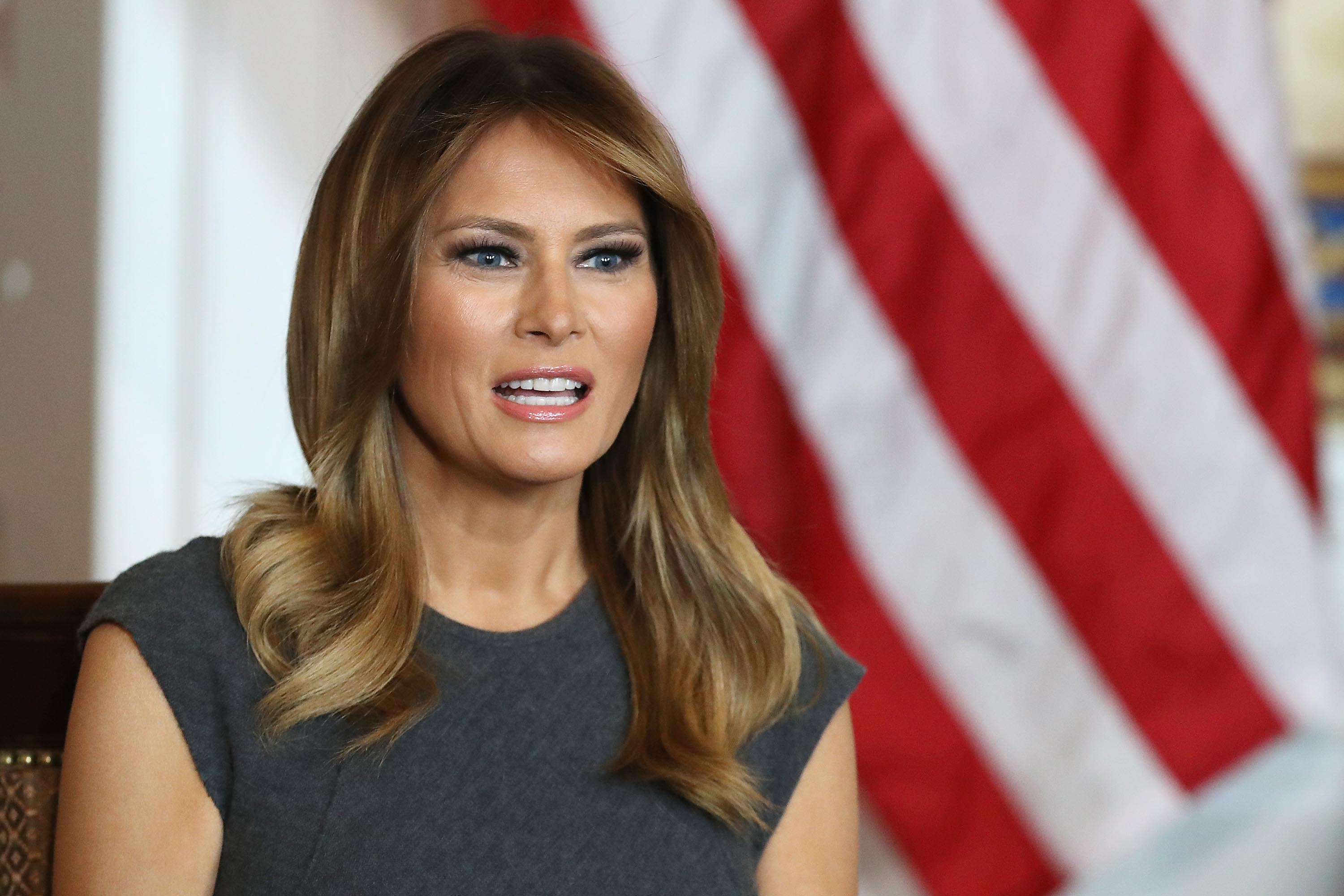 How Melania Trump compares with other