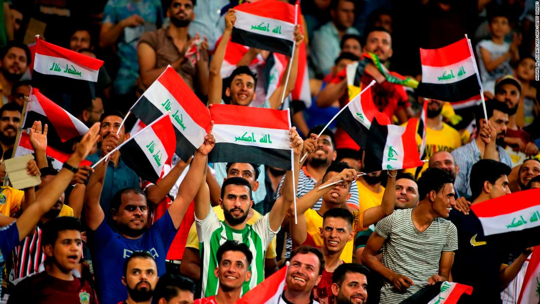Iraq dreams of World Cup as soccer finally comes home
