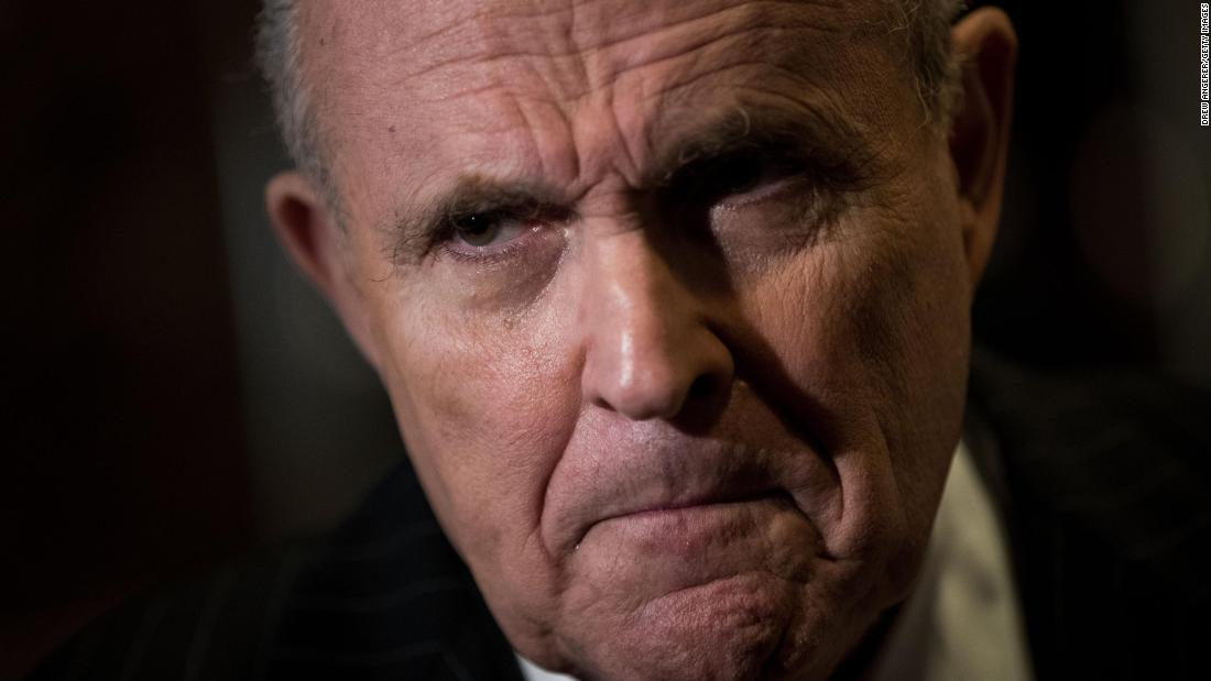 Chuck Schumer says Rudy Giuliani needs to testify under oath