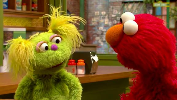"""Sesame Street"" is addressing the grown-up issue of drug addiction as part of a new initiative. They have posted a string of videos in which Karli the Muppet talks with her friends about her mother's problem and recovery. Karli was introduced in May and we did a story about her being a foster child."