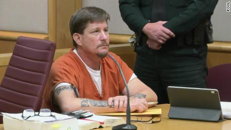 Michael Drejka sits in court during his sentencing hearing Thursday.