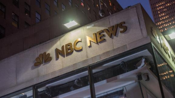 NEW YORK, NY - SEPTEMBER 29:  A view outside NBC News at Rockefeller Plaza on September 29, 2017 in New York City.  (Photo by Noam Galai/WireImage)